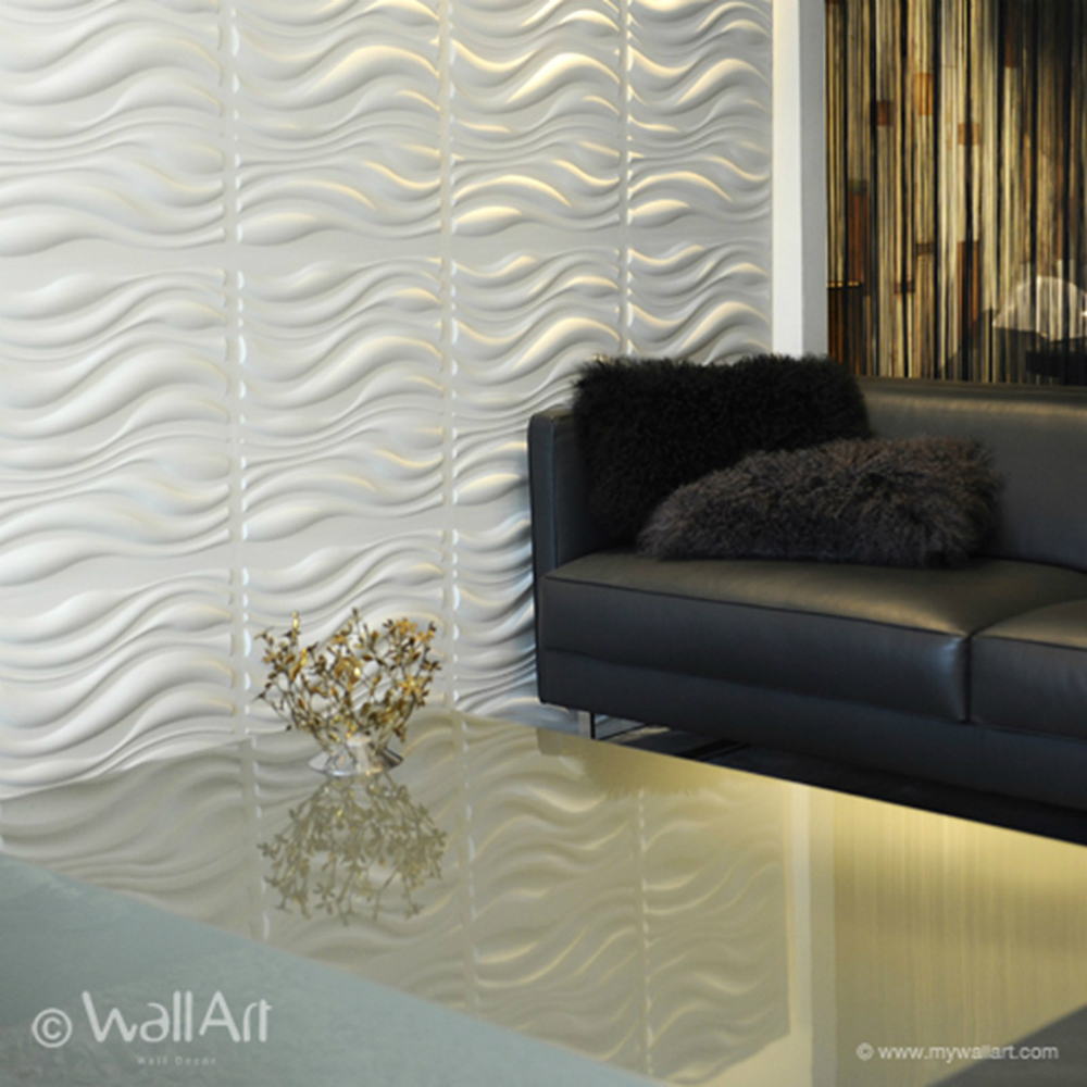 decorative 3d wall panels textured wall tiles interior 3d wall panels by wallart. Black Bedroom Furniture Sets. Home Design Ideas
