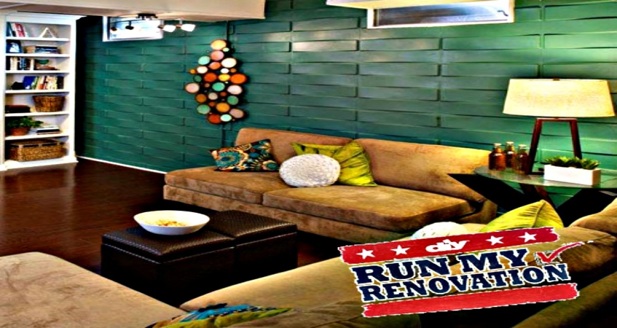 3d wall panels on run my renovation show