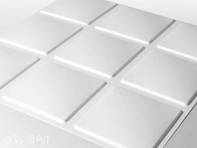 3D Wall Panels - Cubes Design