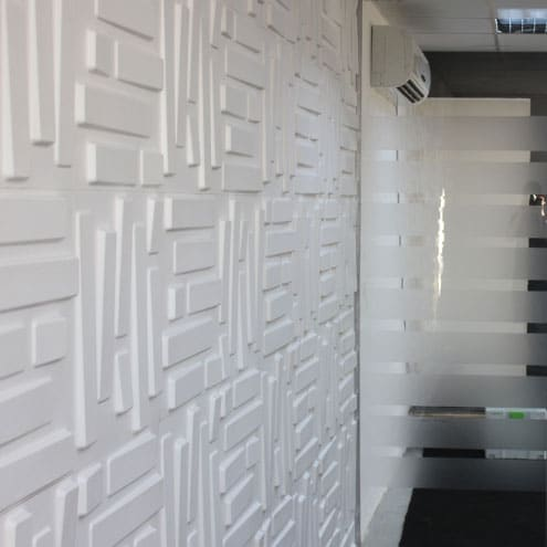 3D Wall Panels - Bricks Design