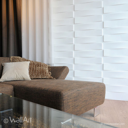 Wall Paneling for Interior - Textured Wall Panels Vaults Design
