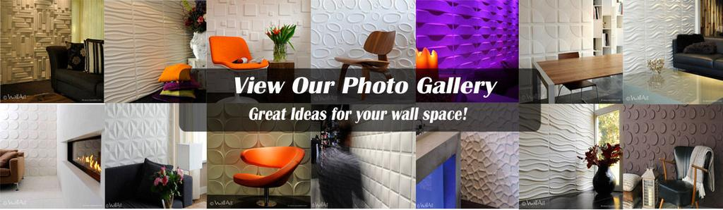 3D Textured Wall Panels gallery