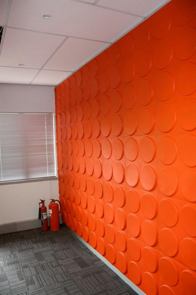 WallArt 3D wall panels - Ellipses Design