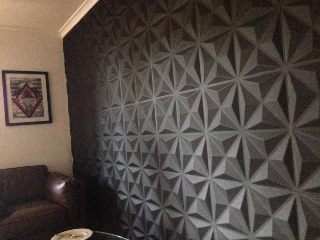 Gentil 3D Wall Panels   Cullinans Design