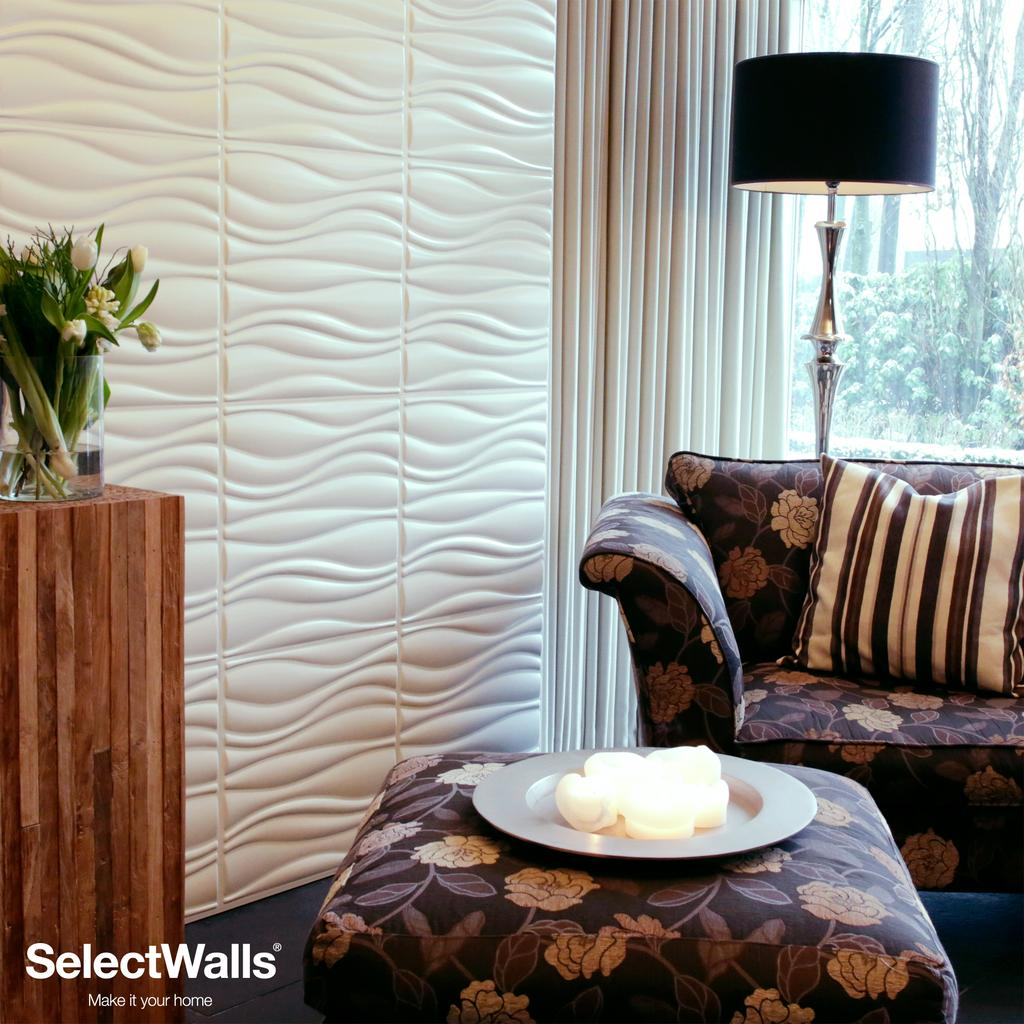 3D Wood MDF Wall Panels