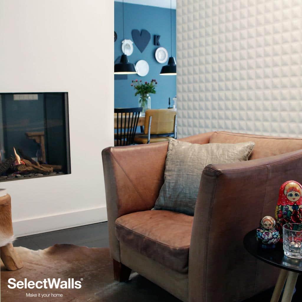 3D Wood MDF Wall Panels