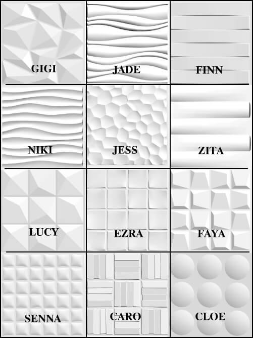 selectwalls-panel designs