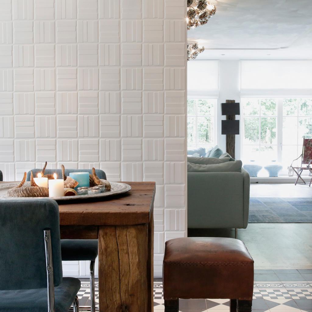 Decorative 3D MDF Wood Wall Panels - Caro Design