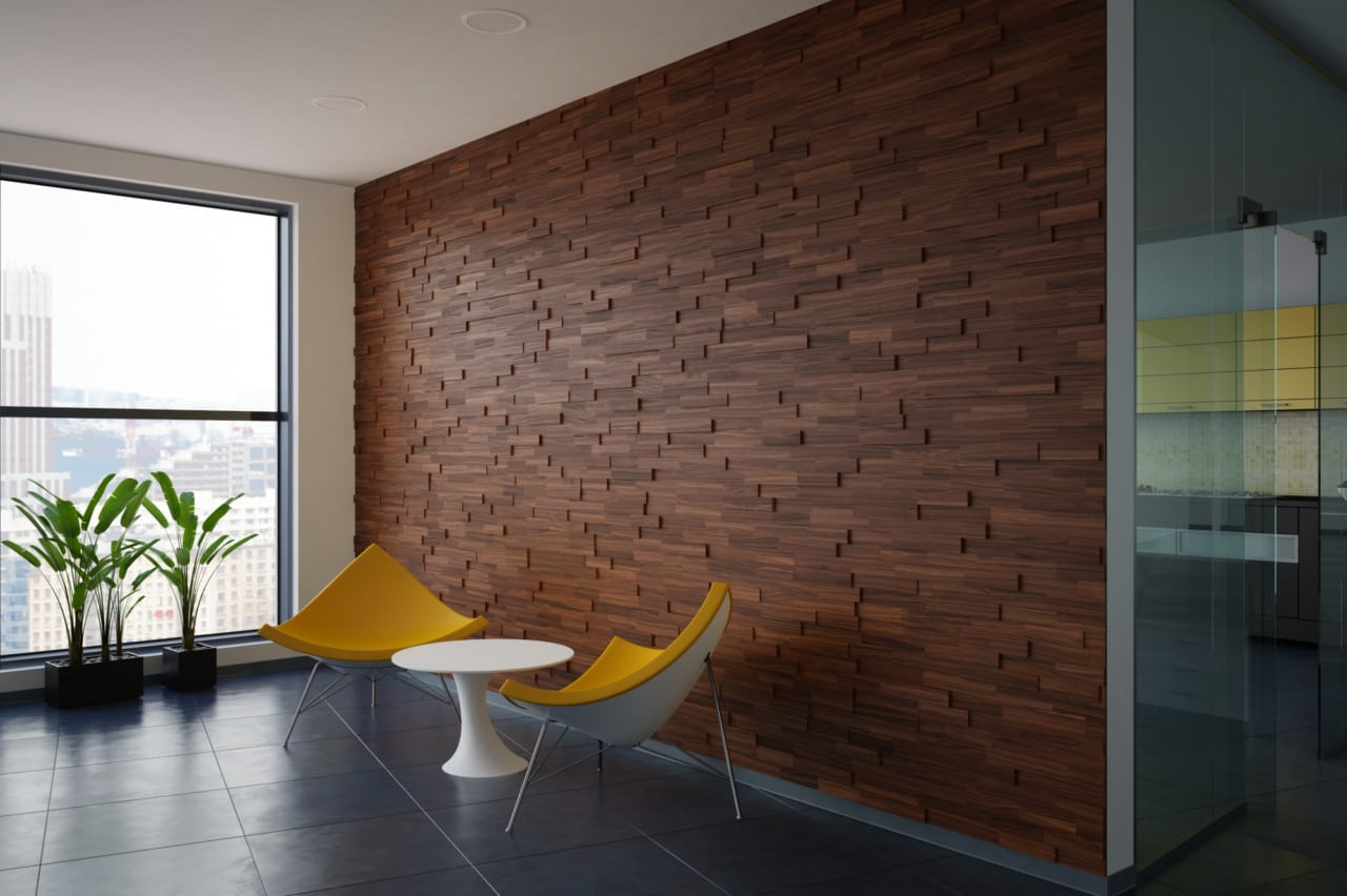 Wood Wall Paneling Wood Wall Panels Walnut Real Wood
