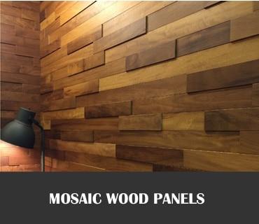 Mosaic Wood Paneling