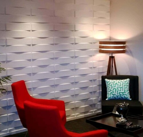 Plant Fiber 3D Wall Panels - Interior Wall Paneling - Decorative