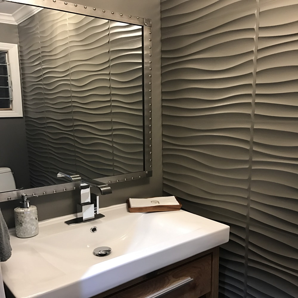 Bathroom Wall Covering Ideas Panel