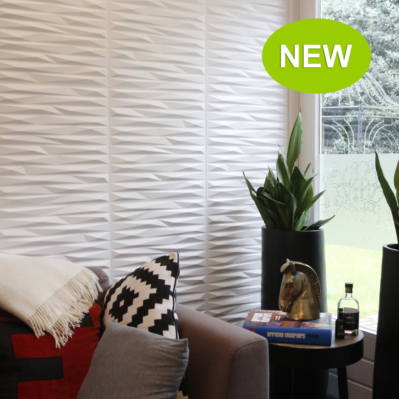 Wall Paneling for Interior - Textured Wall Panels Valeria Design