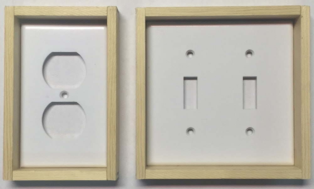 Wall Paneling - Wall Outlet Frames