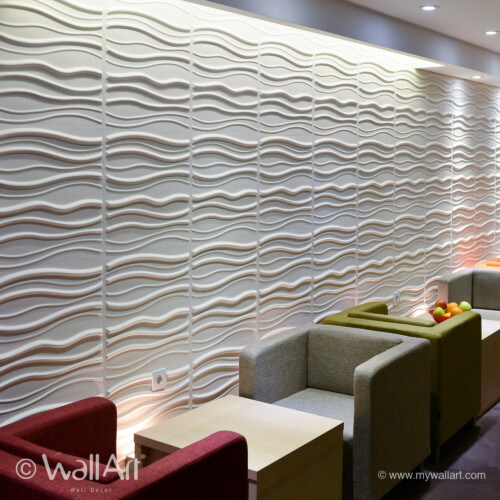 Decorative 3D Wall Panels - Interior Wall Paneling Gallery