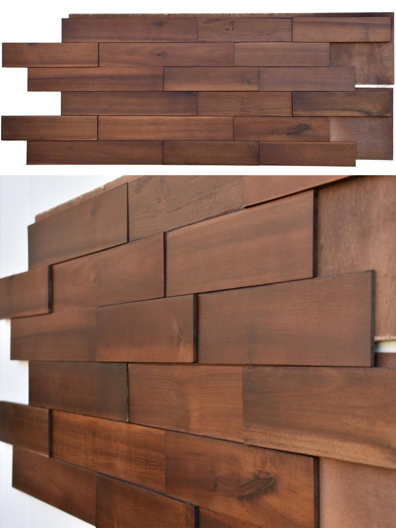 Vietnam Acacia Wood Paneling-ac03
