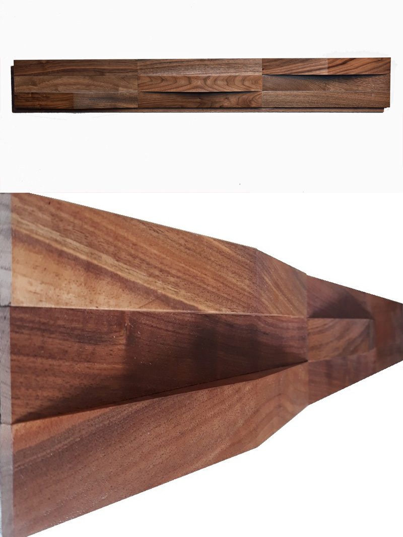 American Walnut Wood Panel-w21 Slope
