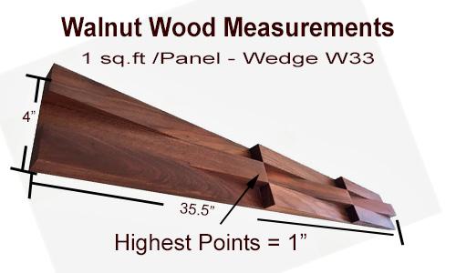 Walnut Wood Panels
